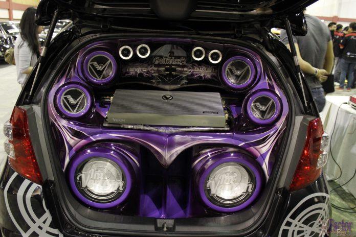 Venom audio car