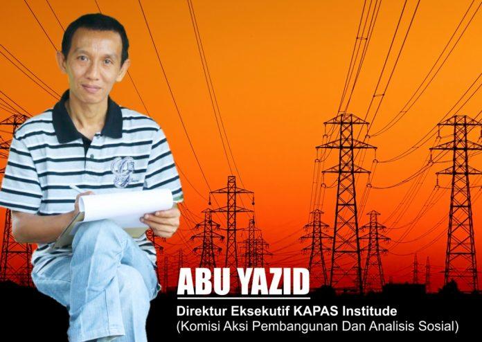 Oku Timur : ABU YAZID Direktur Eksekutif KAPAS Institude (Komisi Aksi Pembangunan dan Analisis Sosial)