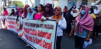 GEMA WASBI Bengkulu Tolak Calon Gubernur Poligami