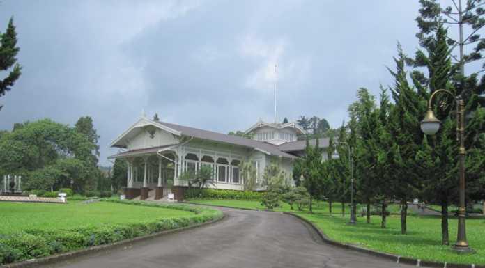 Istana Cipanas - Cianjur - Jawa Barat