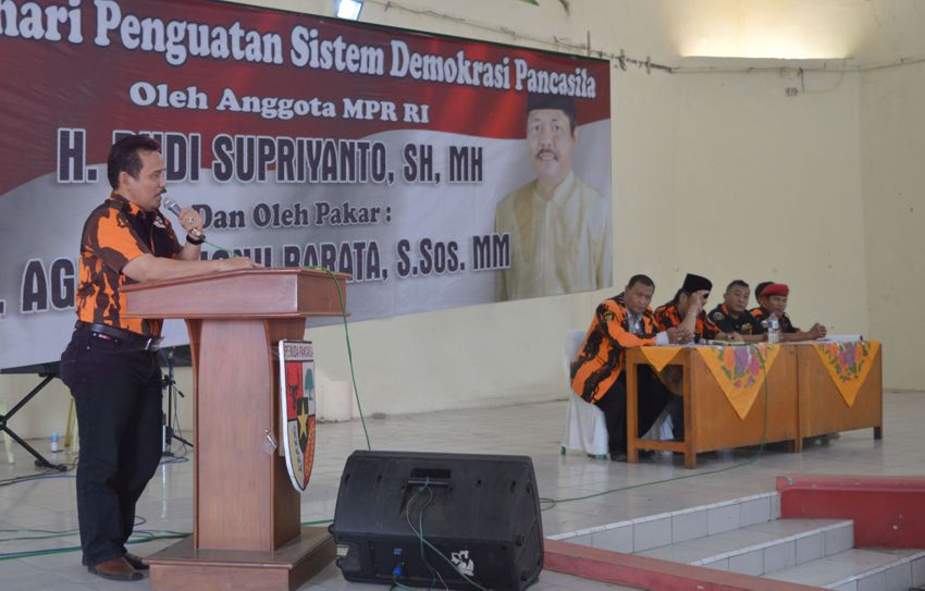 Sodik Pimpin Kembali Pemuda Pancasila Kab. Batang – Jawa Tengah