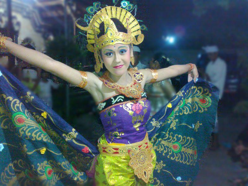 Tari Merak Bali