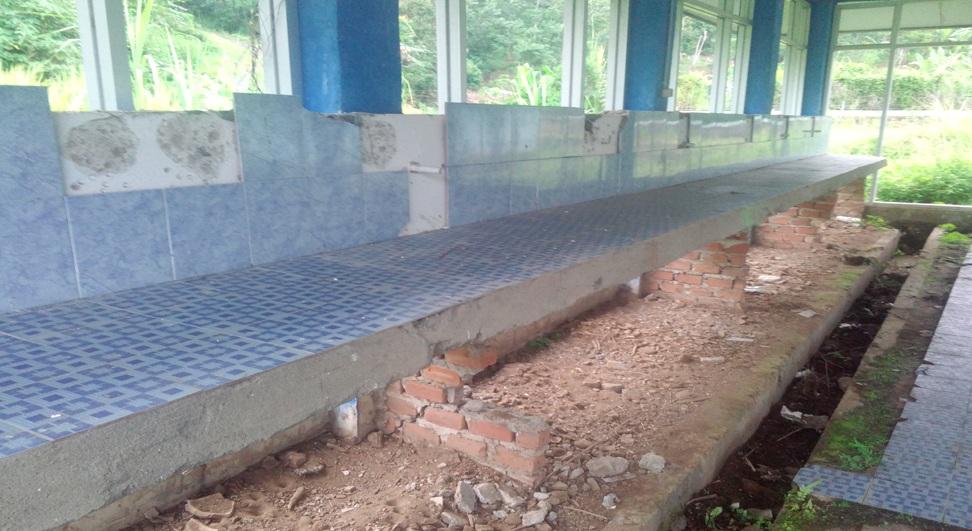 Proyek Gedung Hateri BBI Desa Peraduan Binjai, Diduga Bermasalah