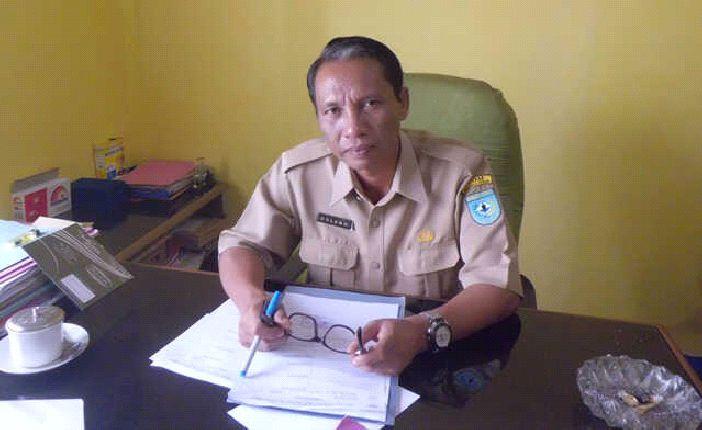 Kepala Badan Kepegawaian Daerah (BKD) Bengkulu Utara, Dullah, SE