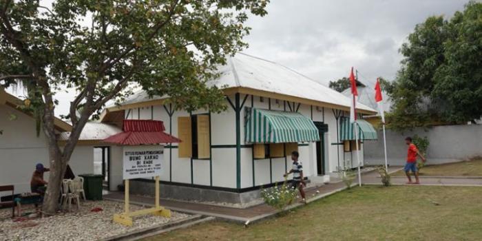 Bekas rumah pengasingan Bung Karno di Ende - Flores