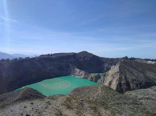 Danau Kelimutu, Kec Kelimutu, Ende, Flores, NTT. Foto: Roman Rendusara