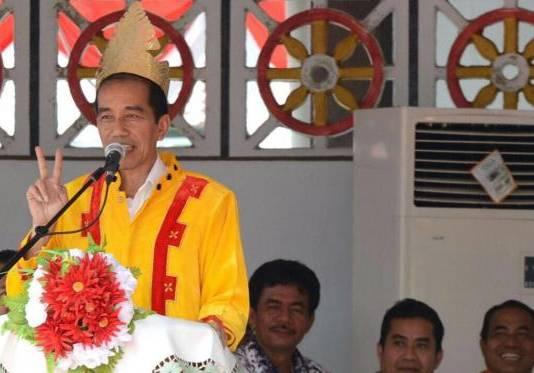 Jokowi 'Lompat Batu' di Nias, Rasakan Sensasi Pulau Impian