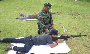 Saat wartawan Garuda Citizen fokus membidik sasaran
