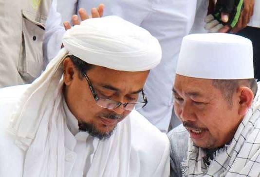 habib rizieq shihab dan bang rozi - tolak pemimpin kafir