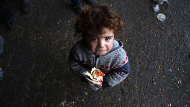 bagaimana perang di Aleppo Suriah