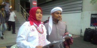 Habib Novel Chaidir Hasan Bamukmin melaporkan Basuki Tjahaja Purnama alias Ahok ke Polda Metro Jaya.