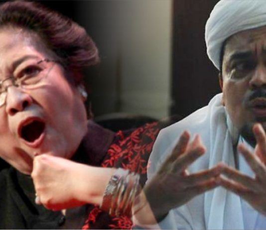 mega riziek Menyentuh Megawati, Rizieg Shihab Selesai