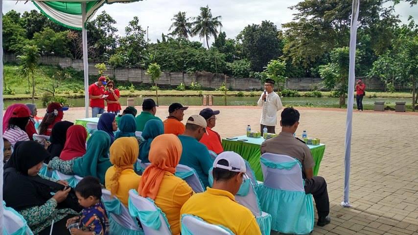 PERSAUNG Tanam Bibit Pohon Dan Tebar Benih Ikan di Jakarta Timur 2