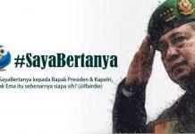 Terkait Cuitan SBY di Twitter; Tagar #SayaBertanya Menjadi Tranding Topic