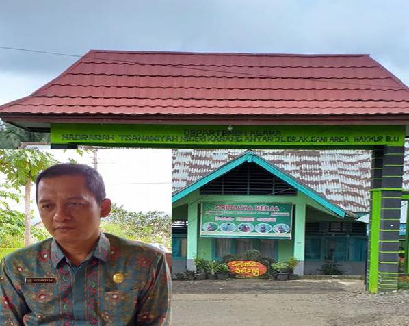 Lecehkan MTs - Kepala Kemenag Bengkulu Utara,Heriansyah