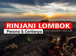 Gunung Rinjani Lombok - Tempat Wisata Indonesia
