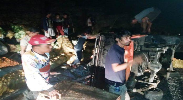 Kecelakaan di Tebing Talang Ulu Lebong