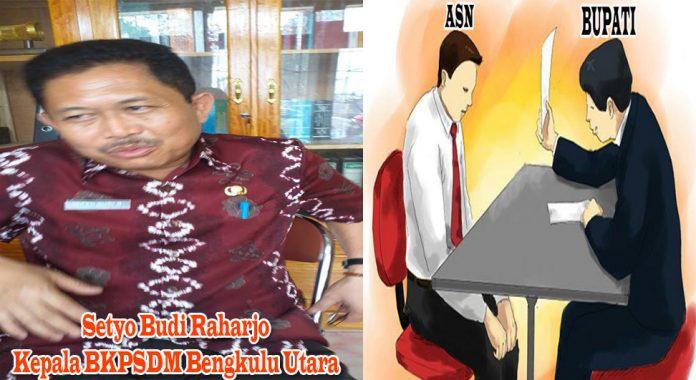 Kepala BPSDM Bengkulu Utara, Setyo Budi Raharjo