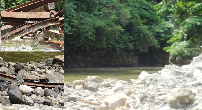 PT.BTL Rusak Lingkungan Sungai