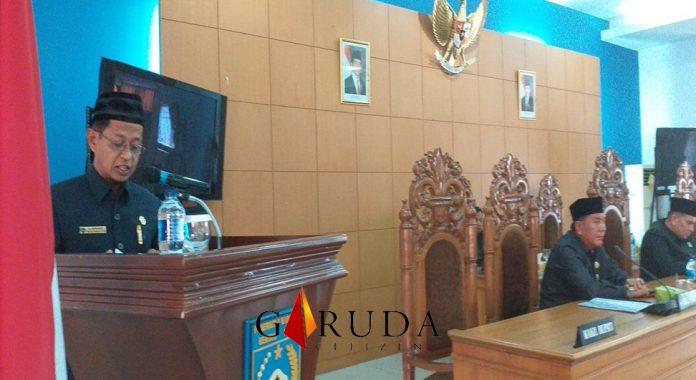 Dewan sampaikan Pandangan Umum Fraksi 2 Raperda Bengkulu Utara