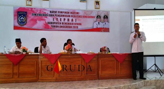 Pemkab Bengkulu Utara Gelar Rapat Rapim Tepra 1 2019