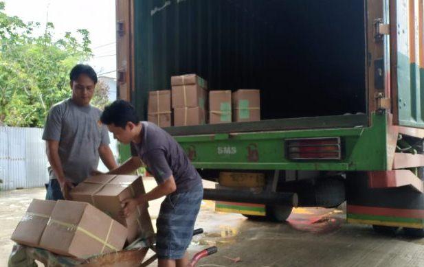 Sebanyak 1.623 Koli Surat Suara Tiba di KPU Bengkulu Utara