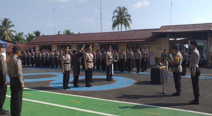 Sertijab Kasat Reskrim dan Waka Polres Bengkulu Utara