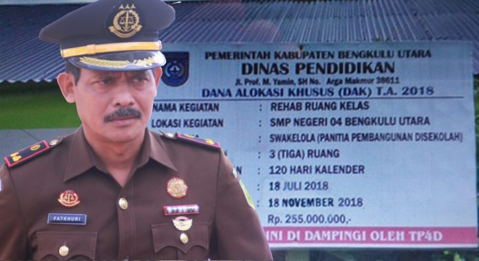 Jaksa Lidik Dugaan Korupsi DAK Pendidikan Bengkulu Utara Tahun 2018