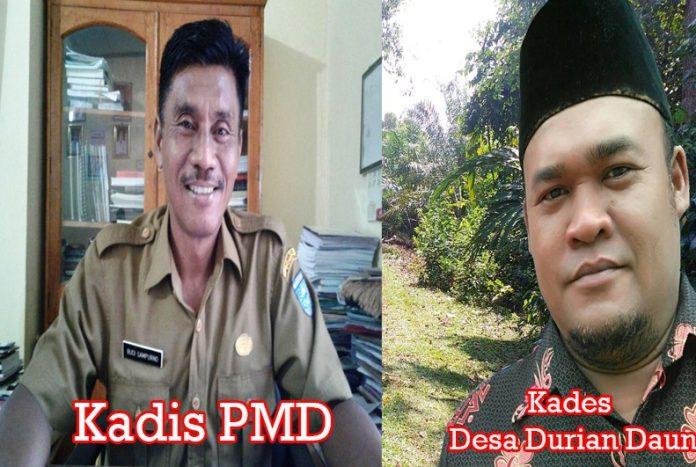 DPMD Tindaklanjuti Indikasi KKN ADD & DD Desa Durian Daun
