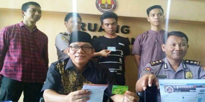Palsukan Akun FB Kapolda Bengkulu, Pemuda Gunung Selan Ditangkap