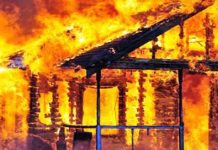 1 Unit Rumah Warga di Desa Suka Rami Ludes Terbakar
