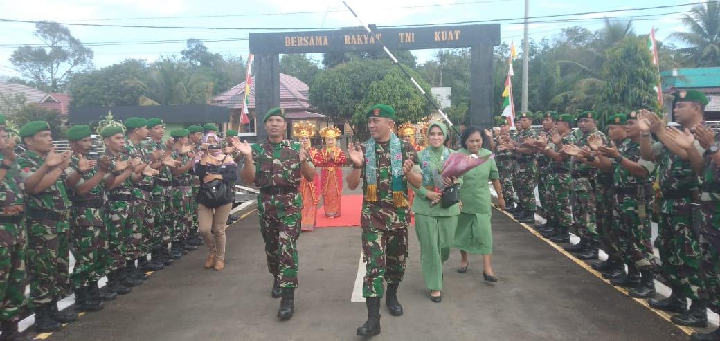 Serah Terima Jabatan Dandim 0423 Bengkulu Utara