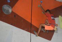 Panjat Tebing - Peserta asal Kepahiang di kualifikasi Youth Putra KCC 2019