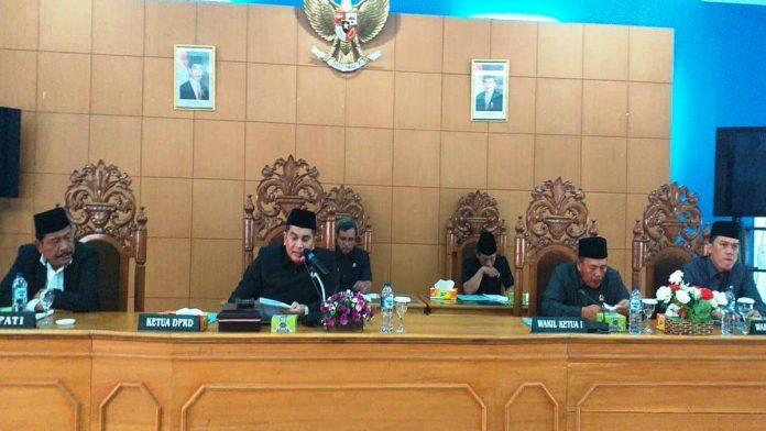DPRD Bengkulu Utara Adakan Dua Rapat Paripurna Tanpa Pause