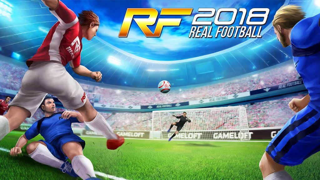 Review Real Football - Game Sepakbola Android Terbaik