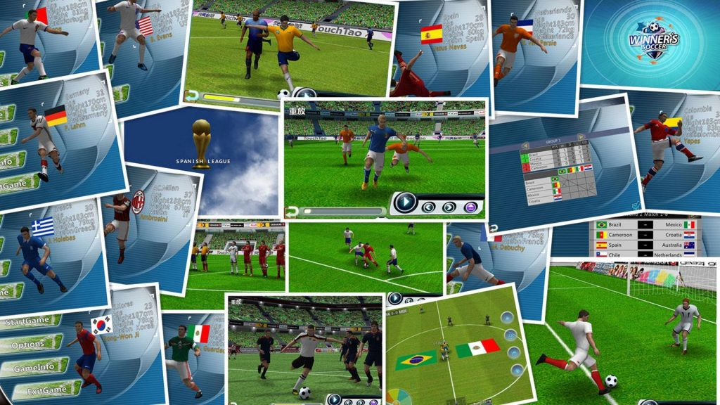 Winner Soccer Evo Elite - PES Versi Handphone