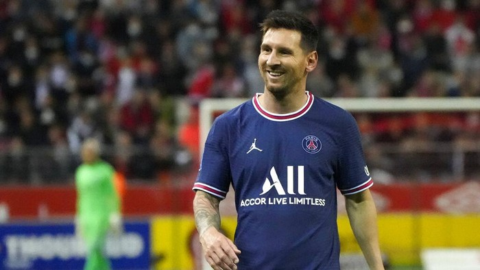 The expectation of PSG over Lionel Messi